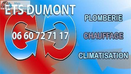 Logo de DUMONT CHRISTOPHE, société de travaux en Remplacement / dépannage de climatisation