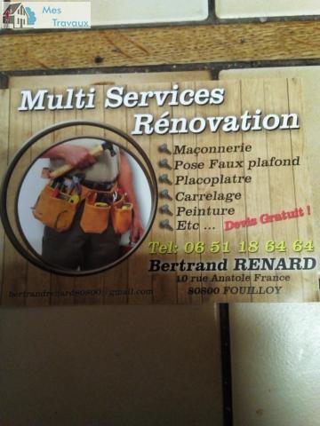 Logo de MULTSERVICES, société de travaux en Rénovation complète d'appartements, pavillons, bureaux