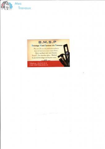 Logo de BMSP, société de travaux en Travaux de décoration