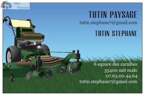 Logo de TUTIN PAYSAGE, société de travaux en Entretien de jardin (ponctuel ou à l'année)