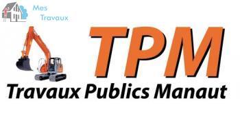 Logo de TPM, société de travaux en Assainissement - Fosses septiques - forage