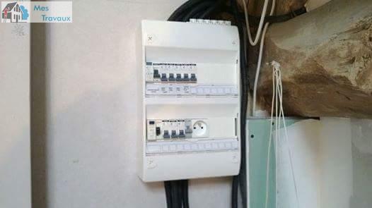 Logo de JEAN MICKAEL, société de travaux en Installation électrique : rénovation complète ou partielle