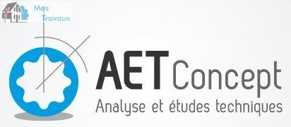 Logo de AET-CONCEPT, société de travaux en Fourniture et pose d'un garde corps