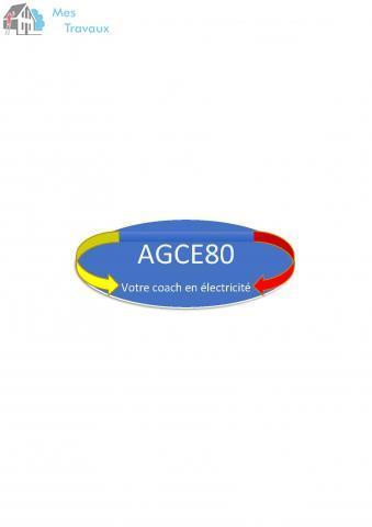 Logo de AGCE80, société de travaux en Dépannage électrique
