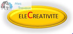 Logo de ELECREATIVITE, société de travaux en Installation électrique : rénovation complète ou partielle