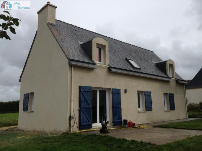 traitement de toiture et façade avec ou sans rinçage