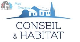 Logo de CONSEIL ET HABITAT, société de travaux en Aménagement de combles