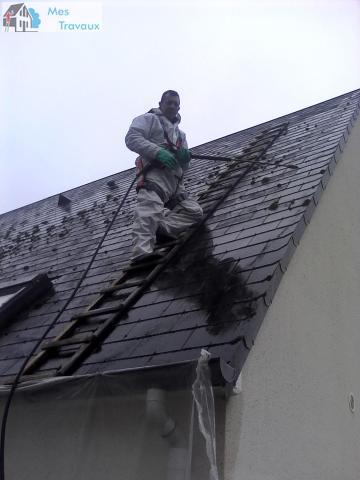 Logo de DAFFER TOITURE, société de travaux en Nettoyage de toitures - façades - bardages