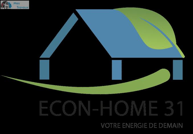 Logo de ECON-HOME31, société de travaux en Fourniture et pose d'une climatisation réversible / chauffage
