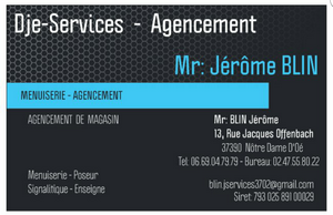 DJE-SERVICES AGENCEMENT