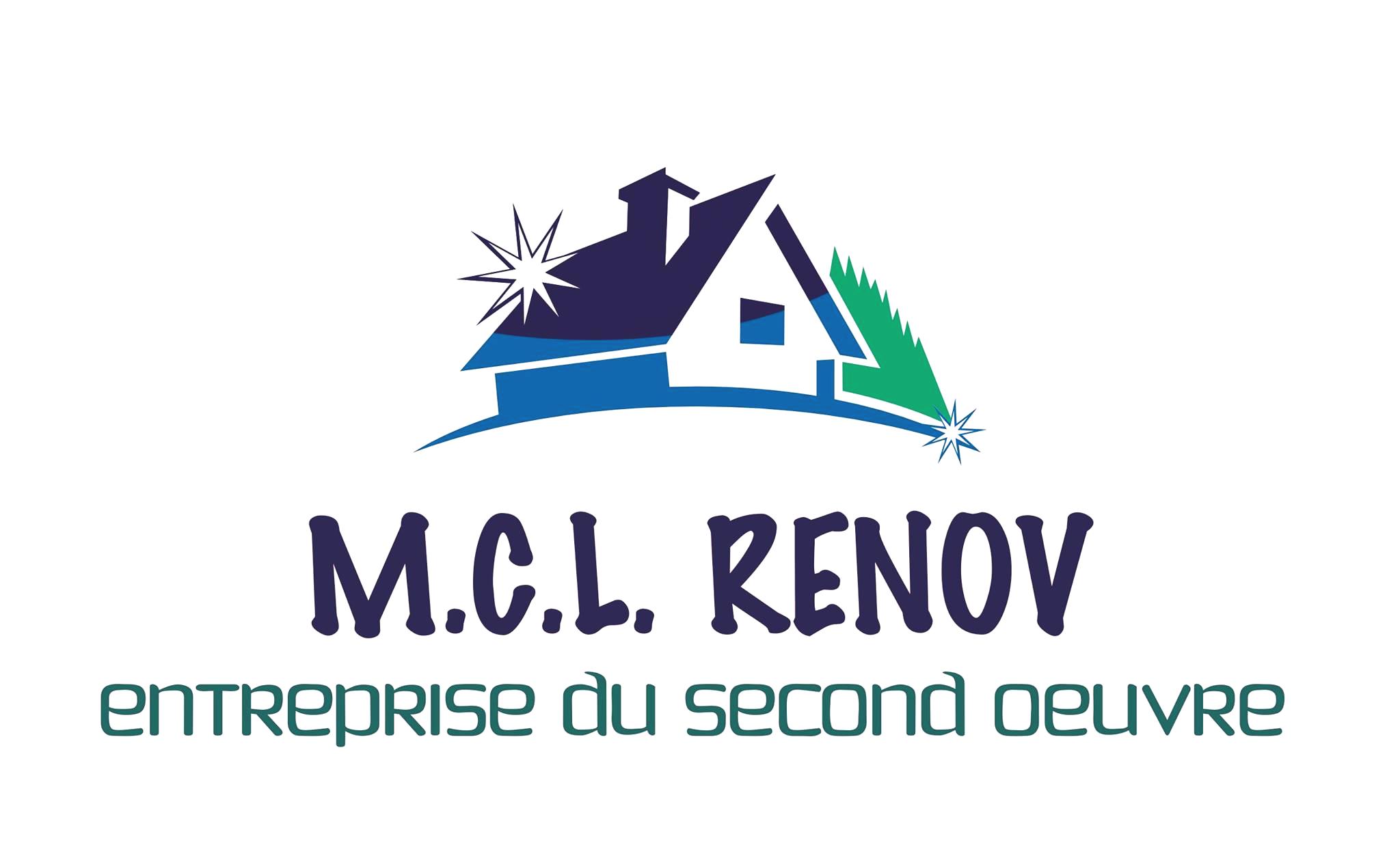 Logo de MCL RENOV, société de travaux en Construction, murs, cloisons, plafonds en plaques de plâtre
