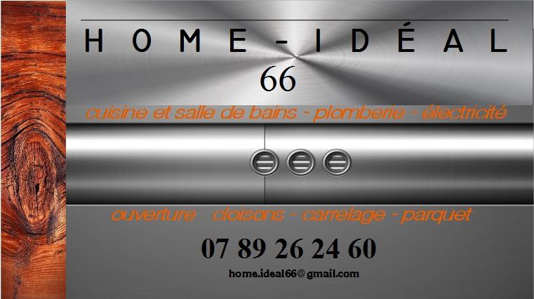 Logo de HOME - IDEAL, société de travaux en Rénovation complète d'appartements, pavillons, bureaux