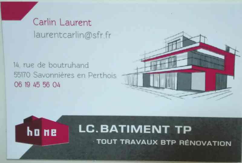 Logo de LC BTP, société de travaux en
