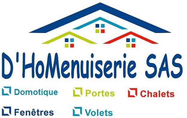 Logo de D'HoMenuiserie, société de travaux en Fourniture et installation d'une ou plusieurs fenêtres