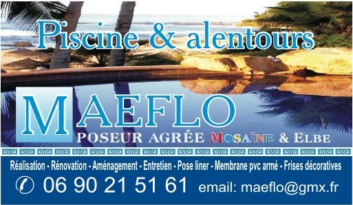Logo de MAEFLO, société de travaux en Abri pour piscine