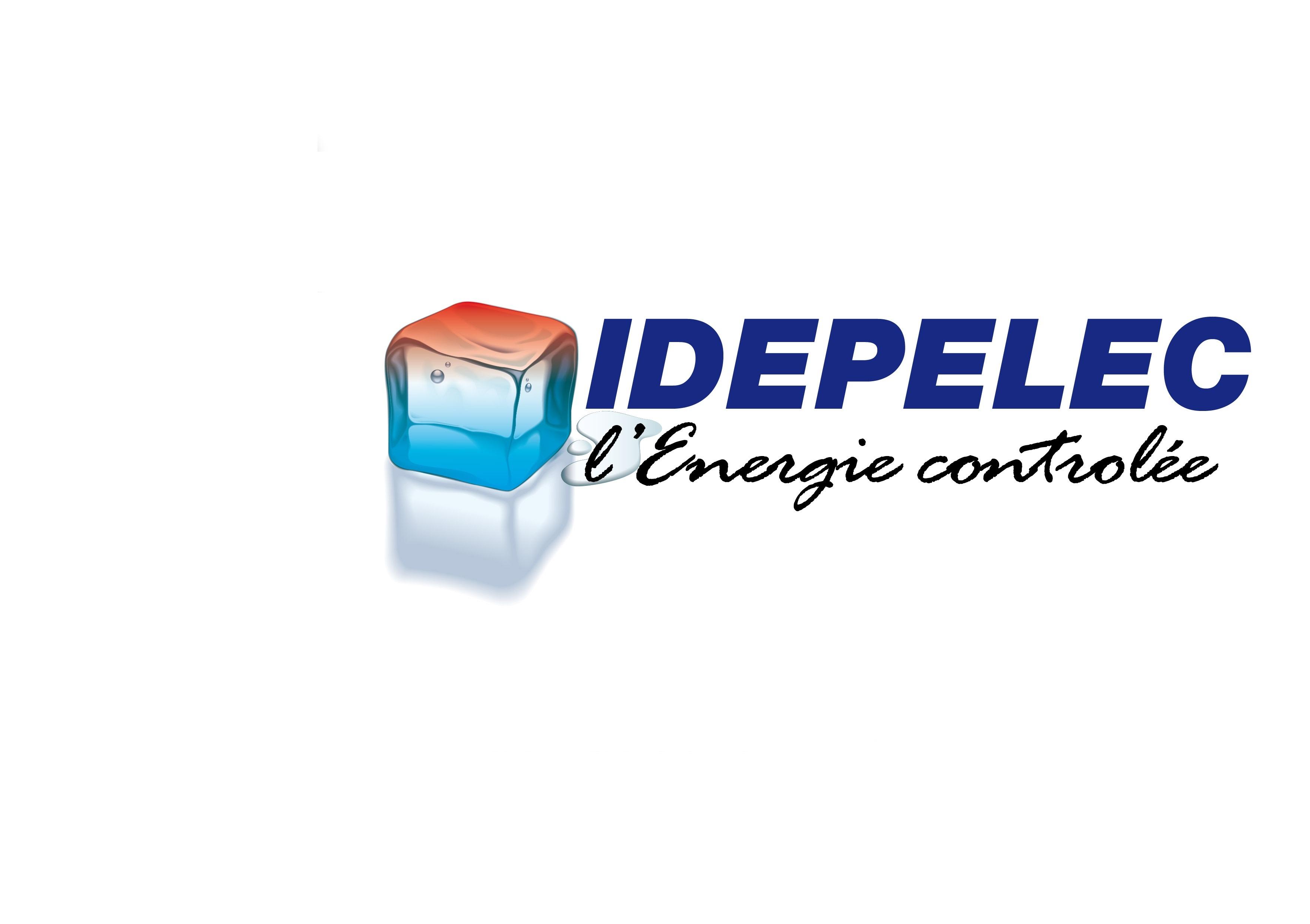 Logo de IDEPELEC l energie controlée, société de travaux en Installation électrique : rénovation complète ou partielle