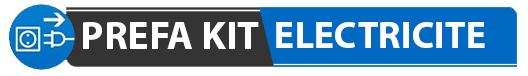 Logo de PREFA KIT ELECTRICITE, société de travaux en Installation électrique : rénovation complète ou partielle
