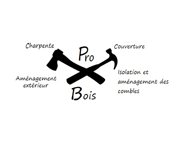 Logo de probois, société de travaux en Couverture (tuiles, ardoises, zinc)