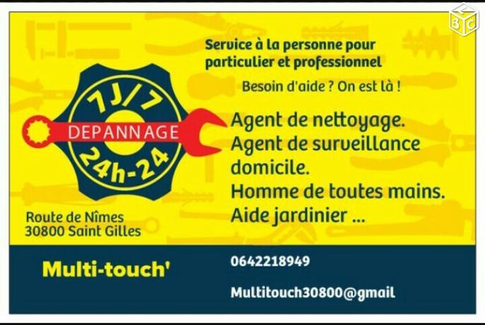 Logo de Multi-touch', société de travaux en Locaux Professionnels
