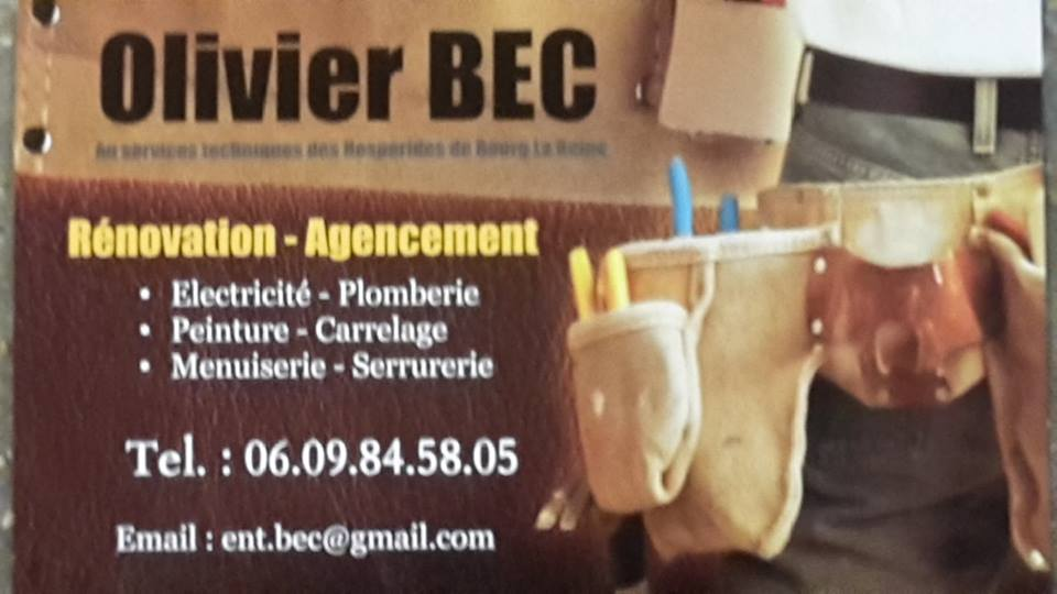 Logo de Entreprise BEC, société de travaux en Dépannage en plomberie : fuite, joints, petits travaux