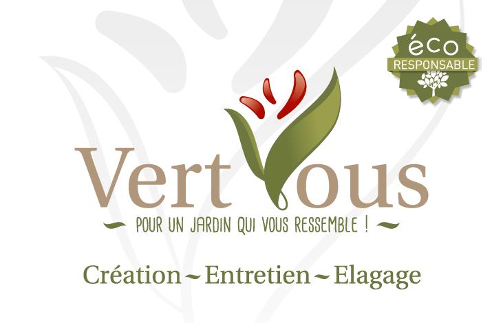 Logo de VERT VOUS 44, société de travaux en Création de jardins, pelouses et de parcs