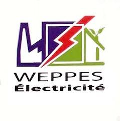Logo de WEPPES ELECTRICITE, société de travaux en Installation électrique : rénovation complète ou partielle
