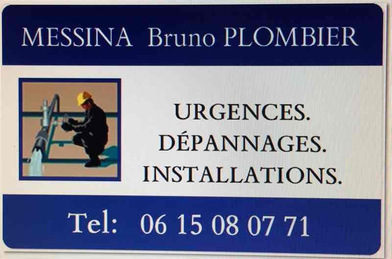 Logo de Plomberie Bruno Messina, société de travaux en Travaux de plomberie salle de bains