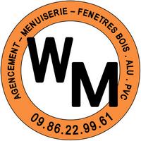 Logo de W M, société de travaux en Fourniture et remplacement de porte ou fenêtre en PVC