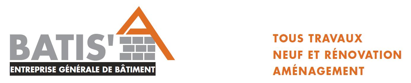 Logo de Batis'a, société de travaux en Maçonnerie : construction de murs, cloisons, murage de porte