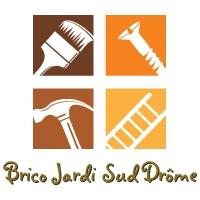Logo de Brico Jardi Sud Drôme, société de travaux en Maçonnerie : construction de murs, cloisons, murage de porte
