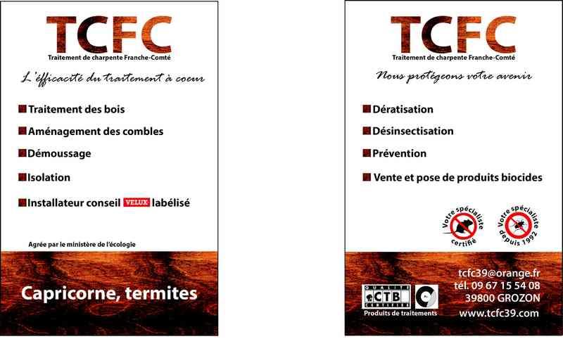 Logo de TCFC, société de travaux en Décrassage ou démoussage de toiture