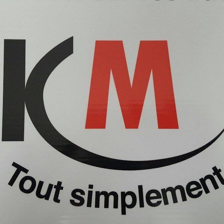 Logo de KM, société de travaux en Fourniture et installation de cuisine complète