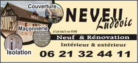 Logo de Neveu Ludovic, société de travaux en Dallage ou pavage de terrasses