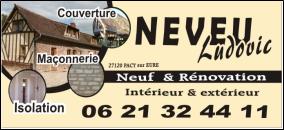 Logo de Neveu Ludovic, société de travaux en Réalisation de chape béton