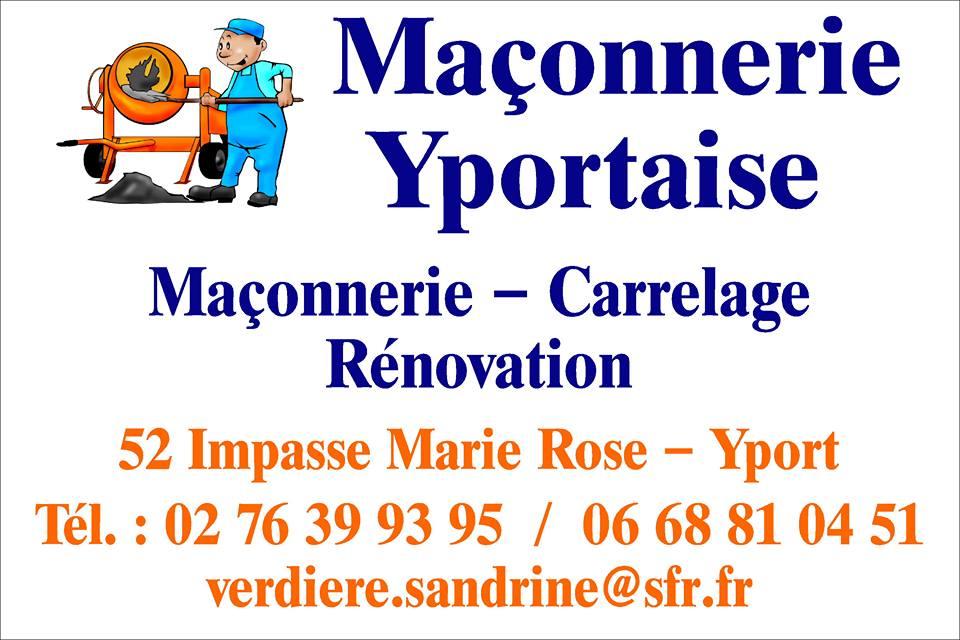 Logo de Maçonnerie Yportaise, société de travaux en Construction de maison