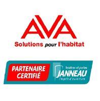 Logo de AVA44 JANNEAU MENUISERIE, société de travaux en Fourniture et remplacement de porte ou fenêtre en bois