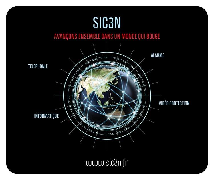 Logo de SIC3N, société de travaux en Autre travaux Alarme