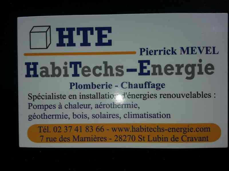Logo de HABITECHS ENERGIE (HTE), société de travaux en Plomberie : installation ou rénovation complète