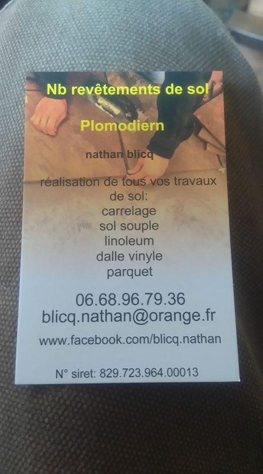 Logo de N.B Revetements de sol, société de travaux en Fourniture et pose de carrelage