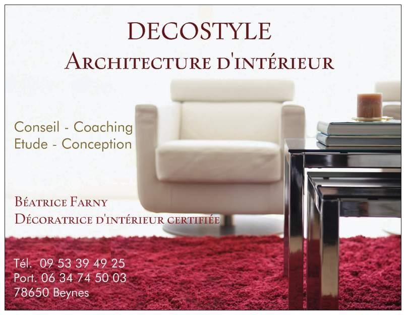 Logo de DECOSTYLE, Architecture d'intérieur, société de travaux en Etude de chantier (avant-projet détaillé ou sommaire)