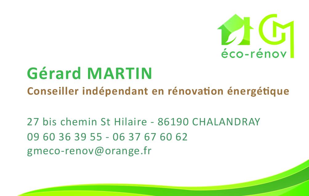 Logo de Gérard Martin, société de travaux en Etude de chantier (avant-projet détaillé ou sommaire)