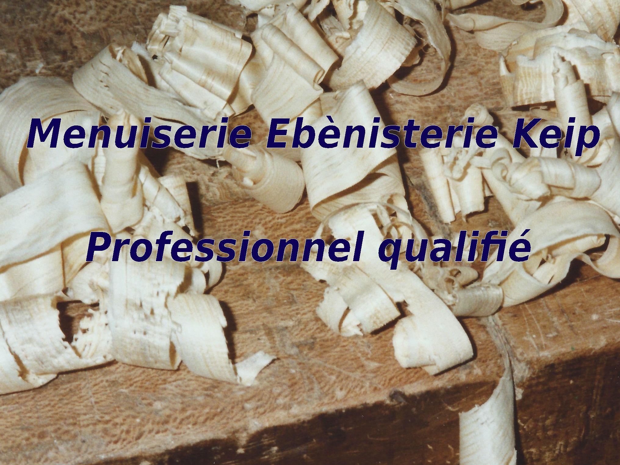 Logo de Menuiserie Ebènisterie Keip, société de travaux en Ponçage et vitrification de parquets