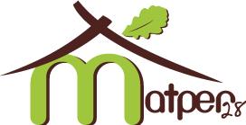Logo de MATPER 28, société de travaux en Construction de maison en bois
