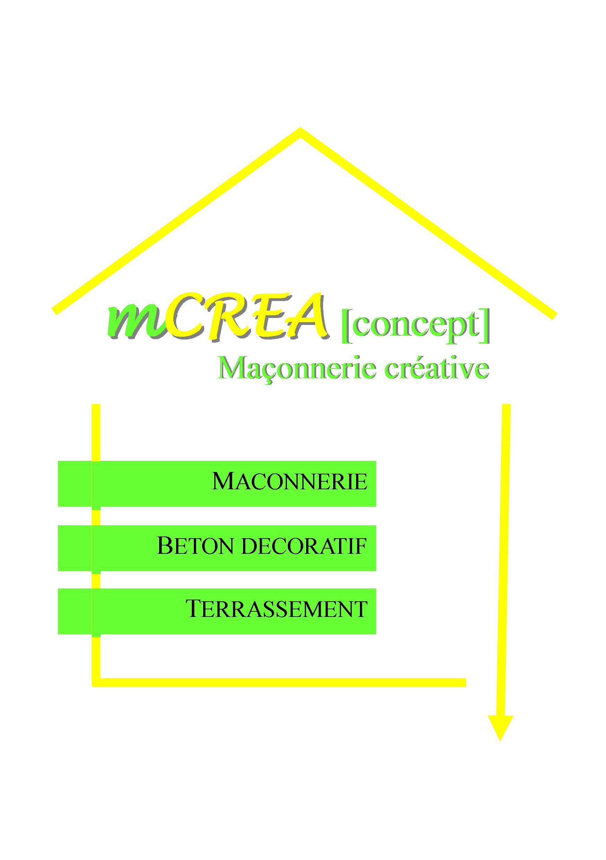 Logo de MCREA CONCEPT, société de travaux en Terrassement