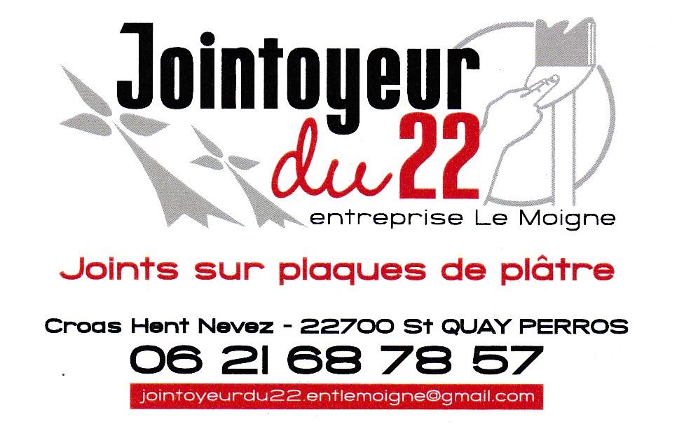Logo de JOINTOYEUR DU22, société de travaux en Construction, murs, cloisons, plafonds en plaques de plâtre