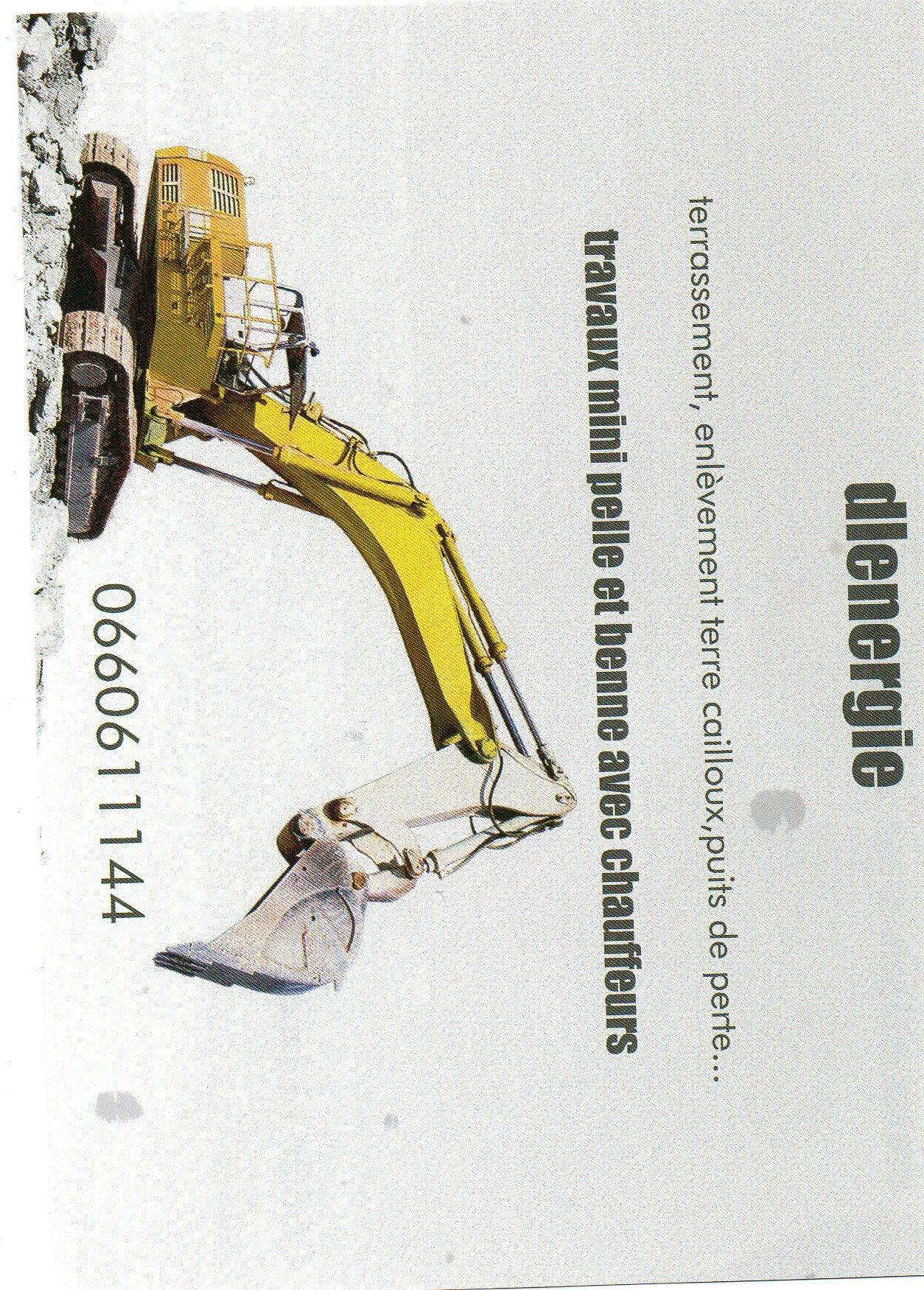 Logo de DL ENERGIE, société de travaux en Démolition et transport de gravats