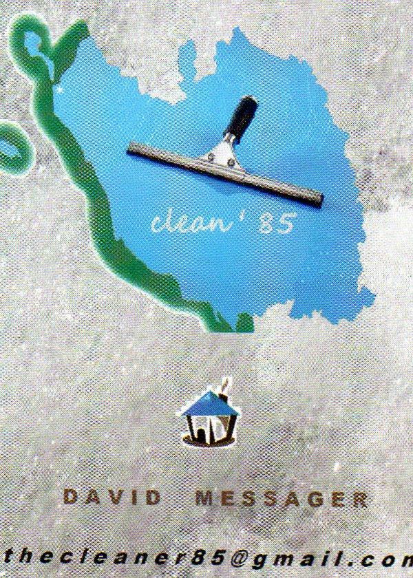 Logo de clean'85, société de travaux en Nettoyage de vitre