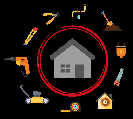 Logo de SBJ Multiservices, société de travaux en Dépannage électrique