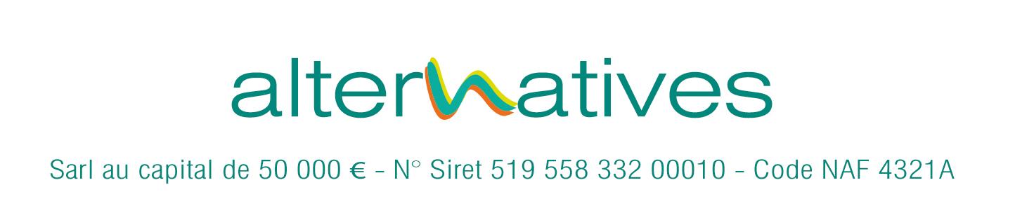 Logo de ALTERNATIVES, société de travaux en Autre travaux Chauffage