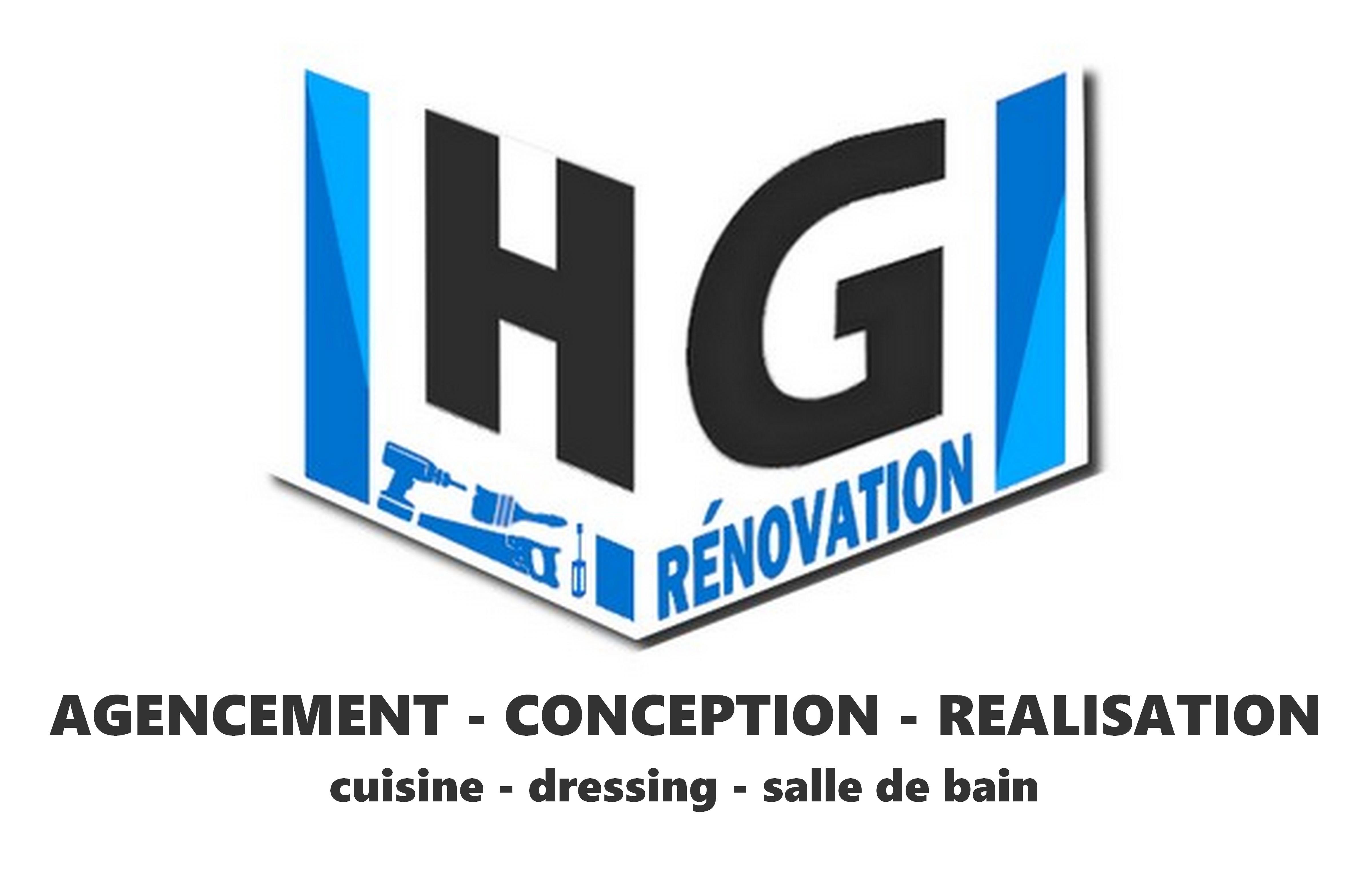 Logo de HG renovation, société de travaux en Cuisine : aménagement et réalisation